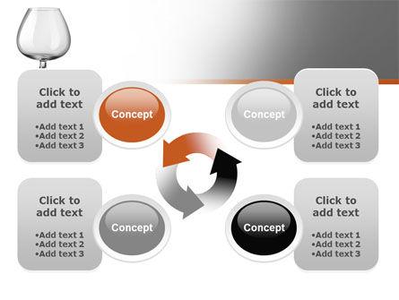 Cognac Glass PowerPoint Template Slide 9