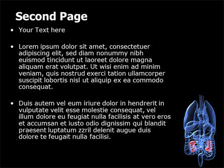 Kidney PowerPoint Template, Slide 2, 06769, Medical — PoweredTemplate.com