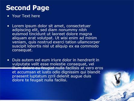 Snowboarding Tricks PowerPoint Template Slide 2