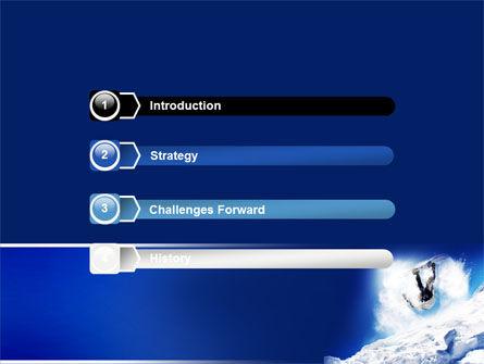 Snowboarding Tricks PowerPoint Template Slide 3