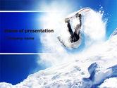 Snowboarding Tricks PowerPoint Template#1