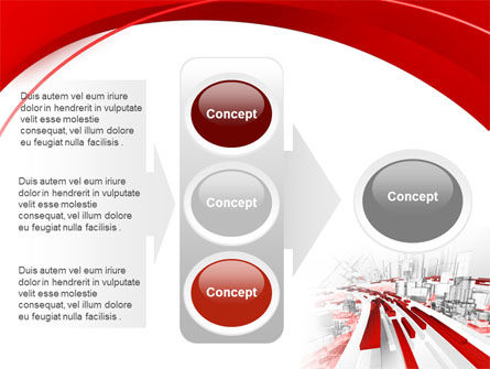 Abstract City Collapse PowerPoint Template Slide 11