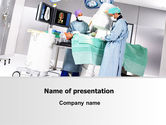 Medical: Modelo do PowerPoint - operação em andamento #06775