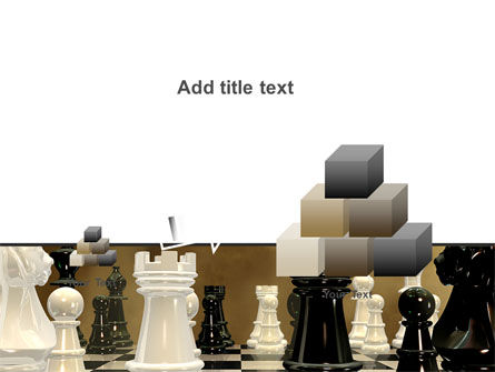 Chess Figures PowerPoint Template Slide 13