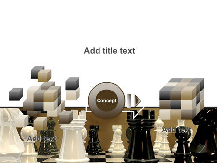 Chess Figures PowerPoint Template Slide 17