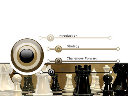 Chess Figures PowerPoint Template Slide 3