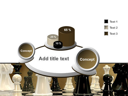 Chess Figures PowerPoint Template Slide 6