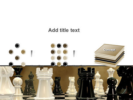 Chess Figures PowerPoint Template Slide 9