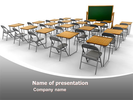 Class Room PowerPoint Template, 06777, Education & Training — PoweredTemplate.com