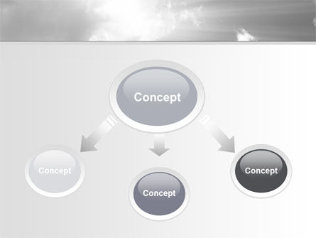 Gray Heaven PowerPoint Template, Slide 4, 06780, Nature & Environment — PoweredTemplate.com