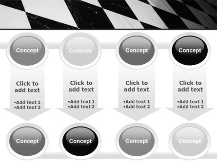 Checkered Surface PowerPoint Template Slide 18