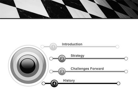 Checkered Surface PowerPoint Template Slide 3