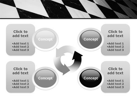 Checkered Surface PowerPoint Template Slide 9