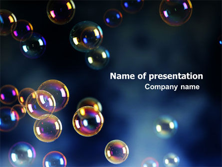 Soap Bubbles PowerPoint Template