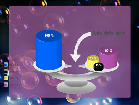 Soap Bubbles PowerPoint Template Slide 10