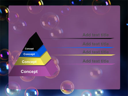 Soap Bubbles PowerPoint Template Slide 12