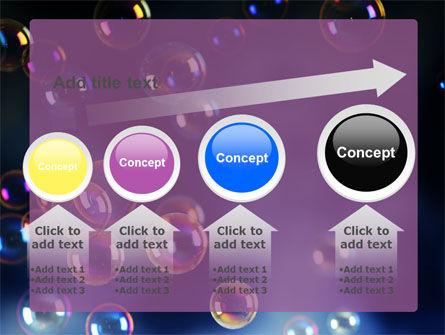 Soap Bubbles PowerPoint Template Slide 13