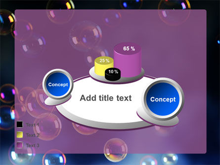 Soap Bubbles PowerPoint Template Slide 16