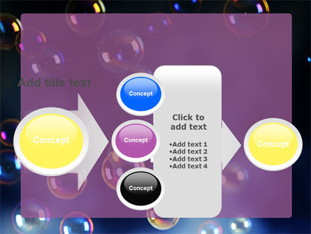 Soap Bubbles PowerPoint Template Slide 17