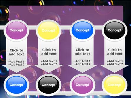 Soap Bubbles PowerPoint Template Slide 18