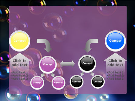 Soap Bubbles PowerPoint Template Slide 19