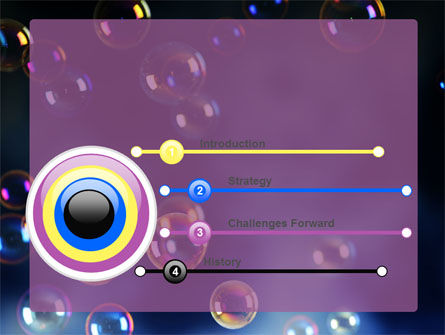Soap Bubbles PowerPoint Template Slide 3