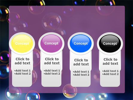Soap Bubbles PowerPoint Template Slide 5