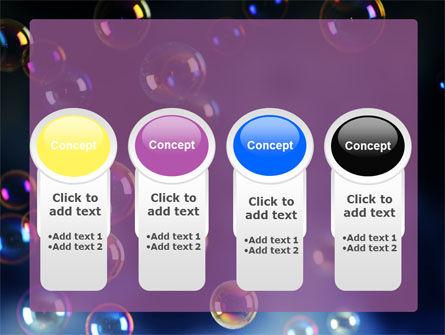 Soap Bubbles PowerPoint Template Slide 5