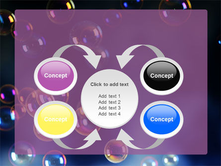 Soap Bubbles PowerPoint Template Slide 6