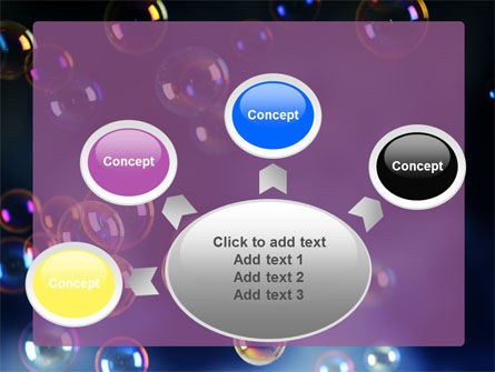 Soap Bubbles PowerPoint Template Slide 7