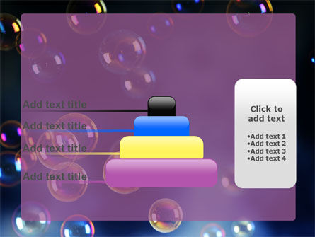 Soap Bubbles PowerPoint Template Slide 8