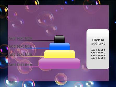 Soap Bubbles PowerPoint Template Slide 8