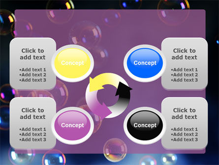 Soap Bubbles PowerPoint Template Slide 9