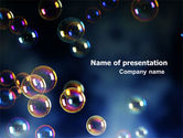 Holiday/Special Occasion: Soap Bubbles PowerPoint Template #06783