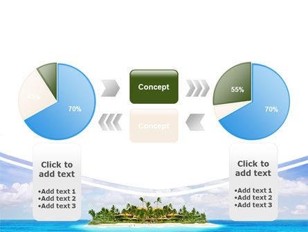 Atoll Reef PowerPoint Template Slide 11
