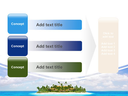 Atoll Reef PowerPoint Template Slide 12
