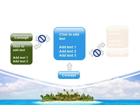 Atoll Reef PowerPoint Template Slide 13