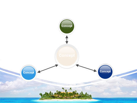 Atoll Reef PowerPoint Template Slide 14