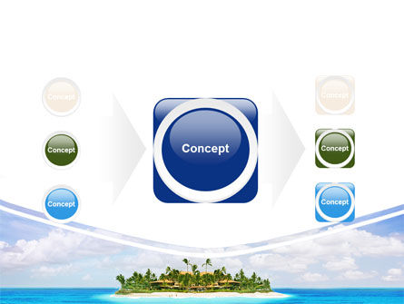 Atoll Reef PowerPoint Template Slide 17