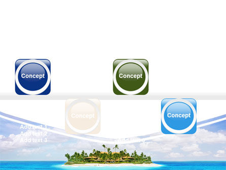 Atoll Reef PowerPoint Template Slide 19