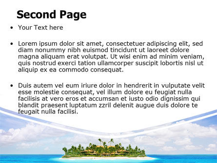 Atoll Reef PowerPoint Template Slide 2