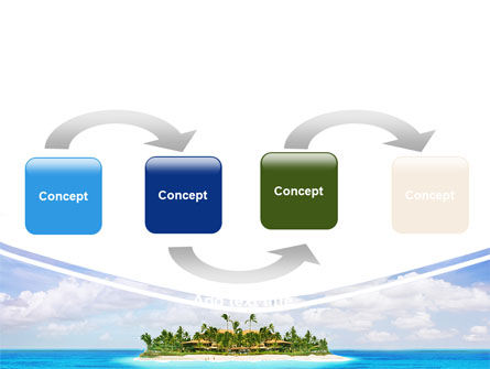 Atoll Reef PowerPoint Template Slide 4