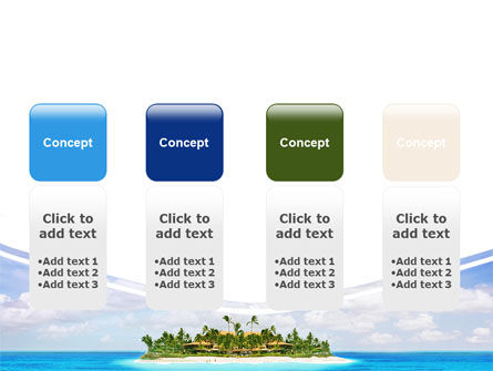 Atoll Reef PowerPoint Template Slide 5