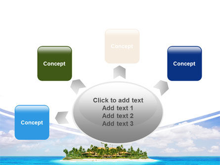 Atoll Reef PowerPoint Template Slide 7