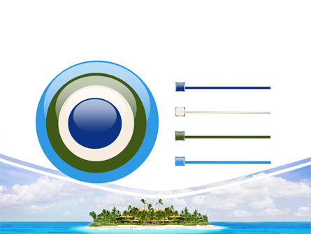 Atoll Reef PowerPoint Template Slide 9