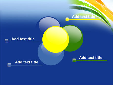 Green and Yellow Touch PowerPoint Template Slide 10