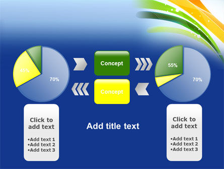 Green and Yellow Touch PowerPoint Template Slide 11