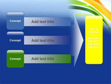 Green and Yellow Touch PowerPoint Template Slide 12
