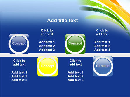 Green and Yellow Touch PowerPoint Template Slide 19