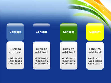 Green and Yellow Touch PowerPoint Template Slide 5